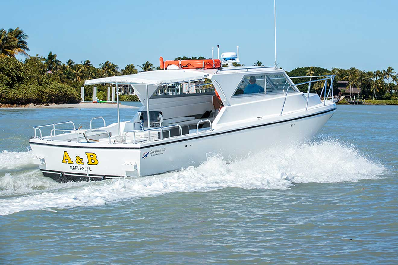 Naples fishing charters aboard the A&B charter boat